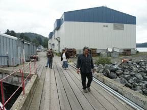 Fish Cannery facility in Port Graham